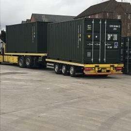 More containers arrive at our Rochdale site
