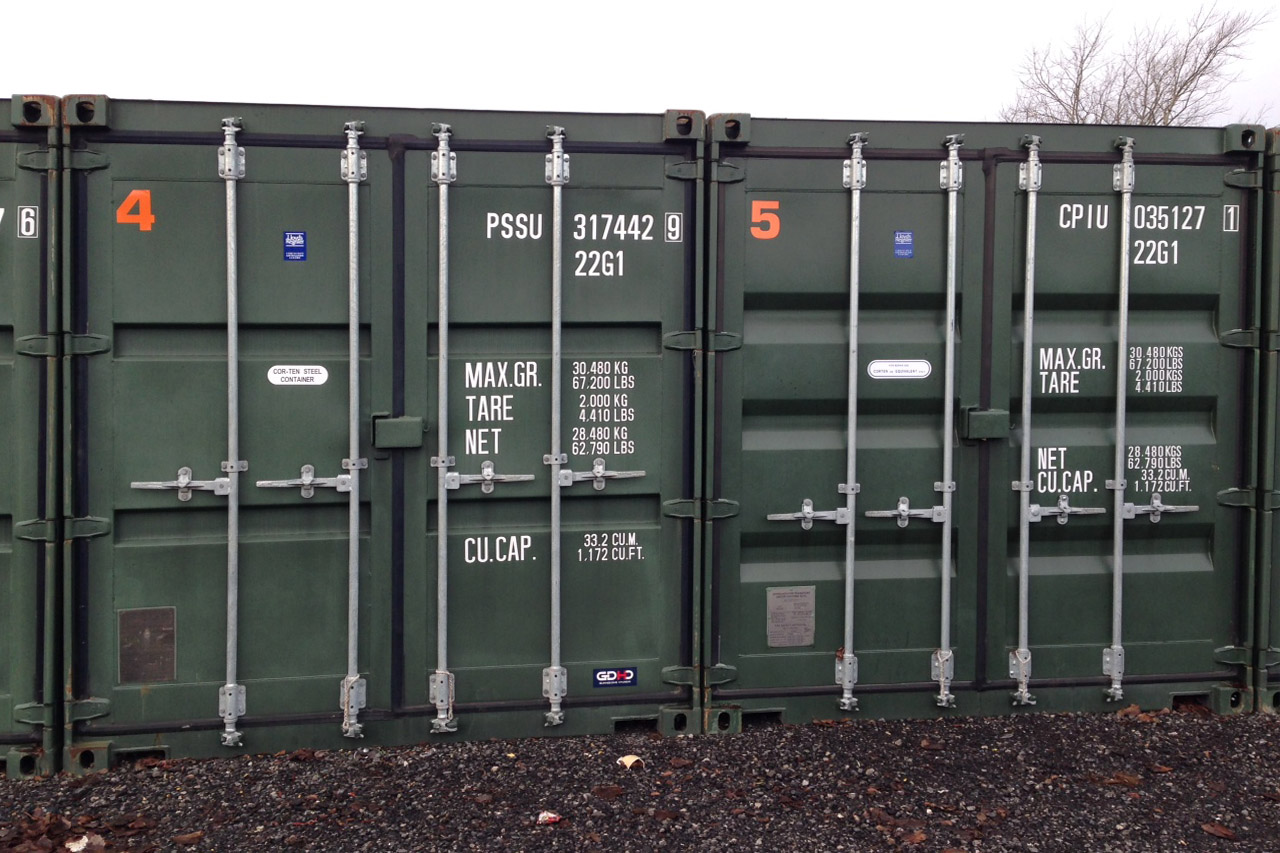 40 ft Container Self Storage In Rochdale afford a store