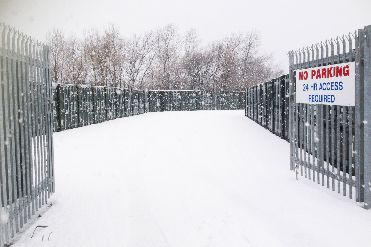 Self Storage Container In Snow afford a store