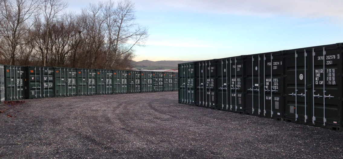 Our New Self Storage Containers Have Arrived In Rochdale